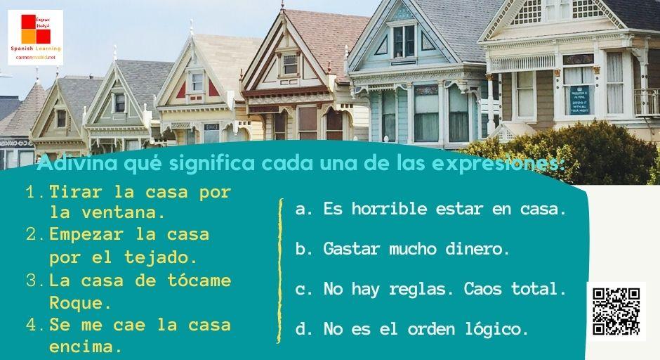 Expresiones con casa: LA CASA DE TÓCAME ROQUE
