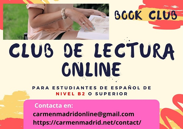Club de Lectura- Book Club (nivel B2 o +)