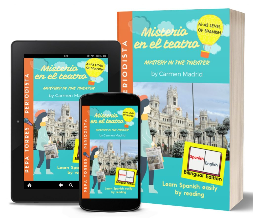 book for Spanish students beginners bilingual